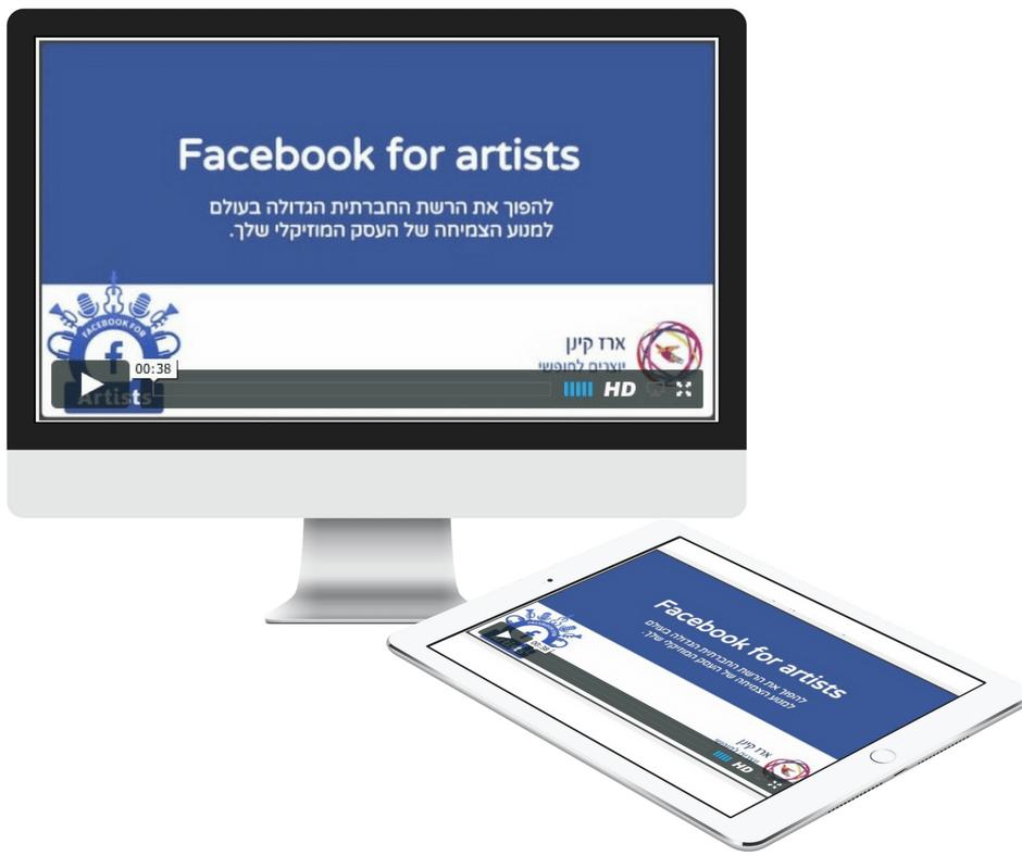 פייסבוק לאומנים